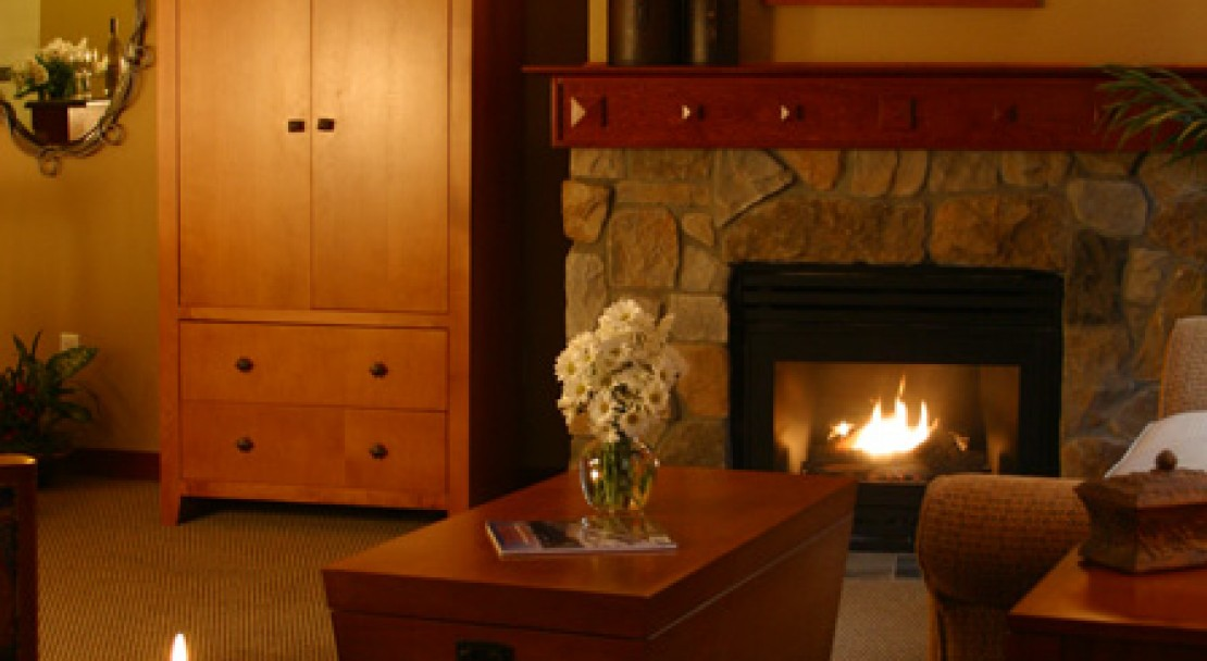 Room Fireplace at The Village at Squaw Valley