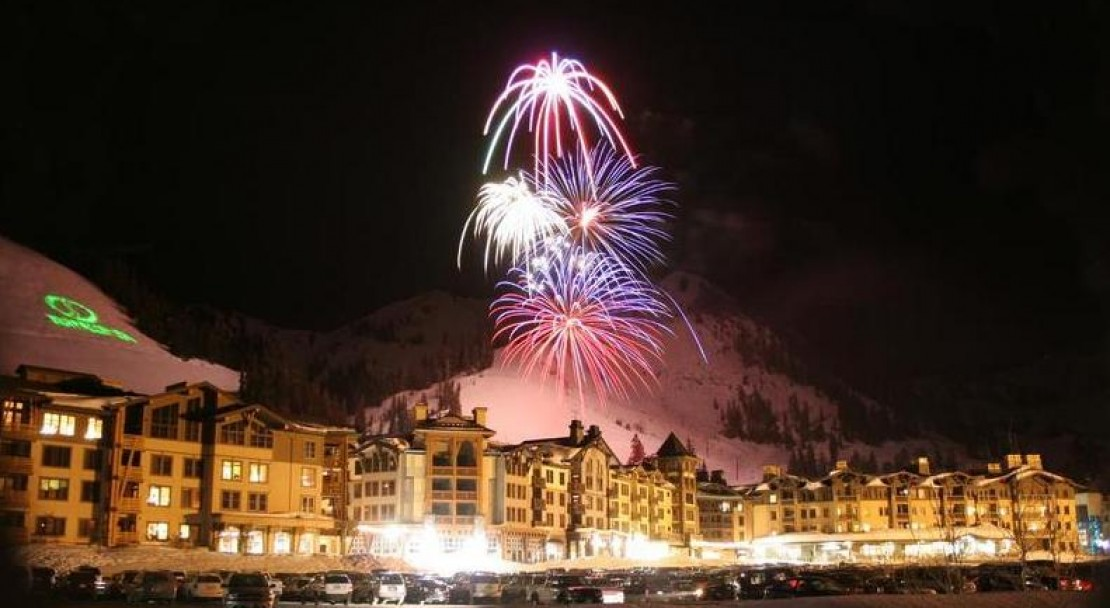 Fireworks over the Village at Squaw Valley - Squaw Valley - USA