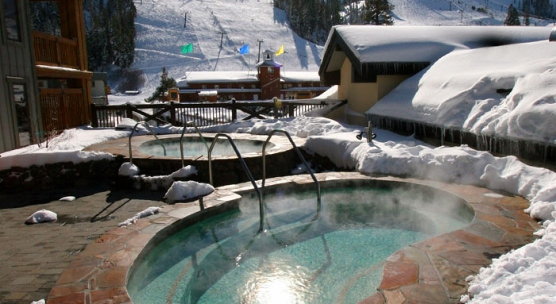 The Hot Tubs at the Village at Squaw Valley - Squaw Valley - USA