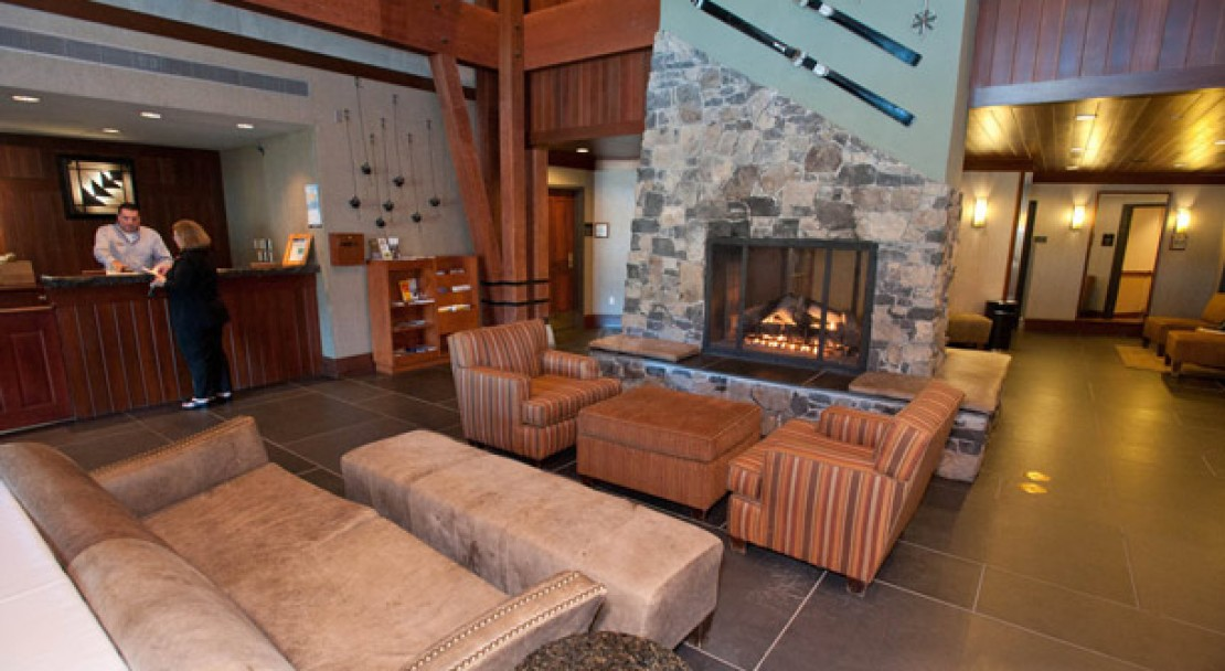 Lobby at The Village at Squaw Valley