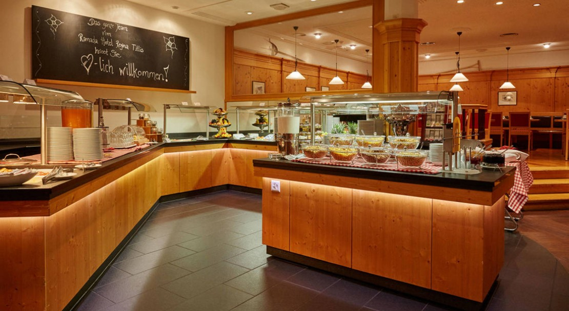 Buffet at Ramada Hotel Regina Titlis