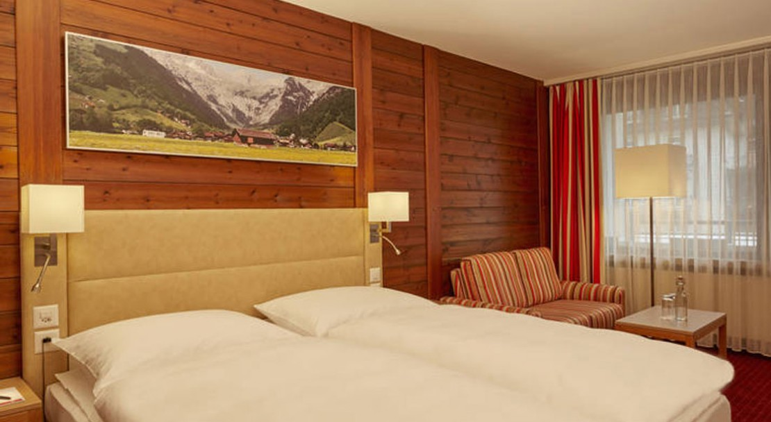 Double comfort room at the Ramada Hotel Regina Titlis