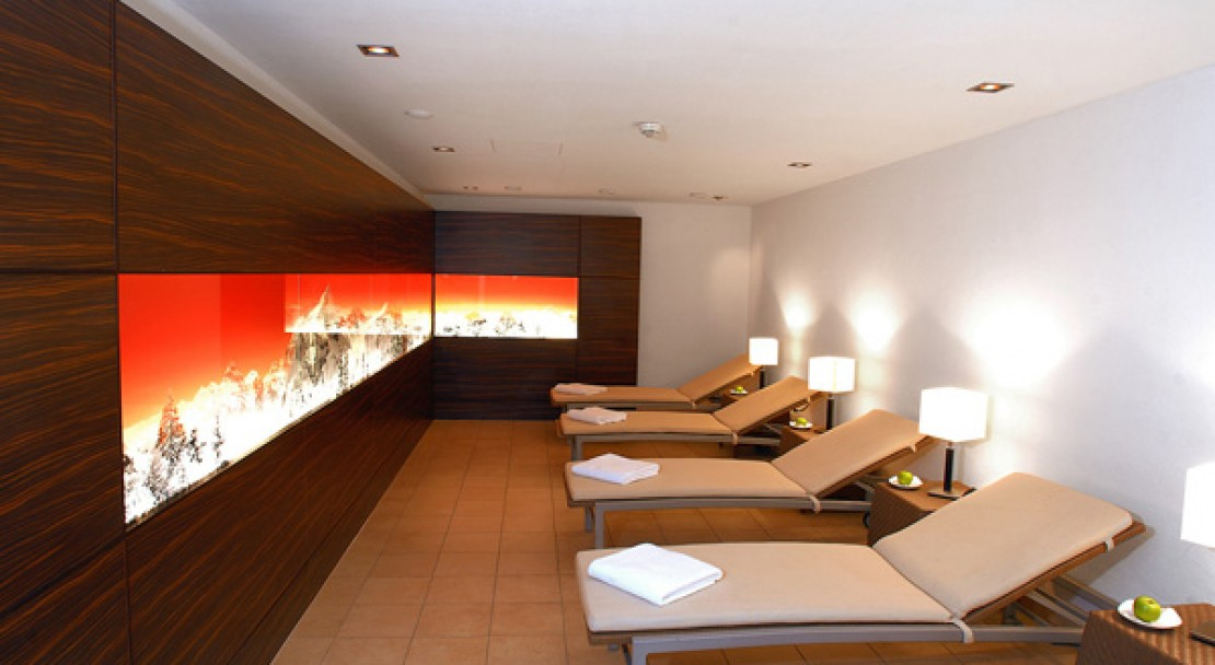 Relaxation area at the Ramada Hotel Regina Titlis