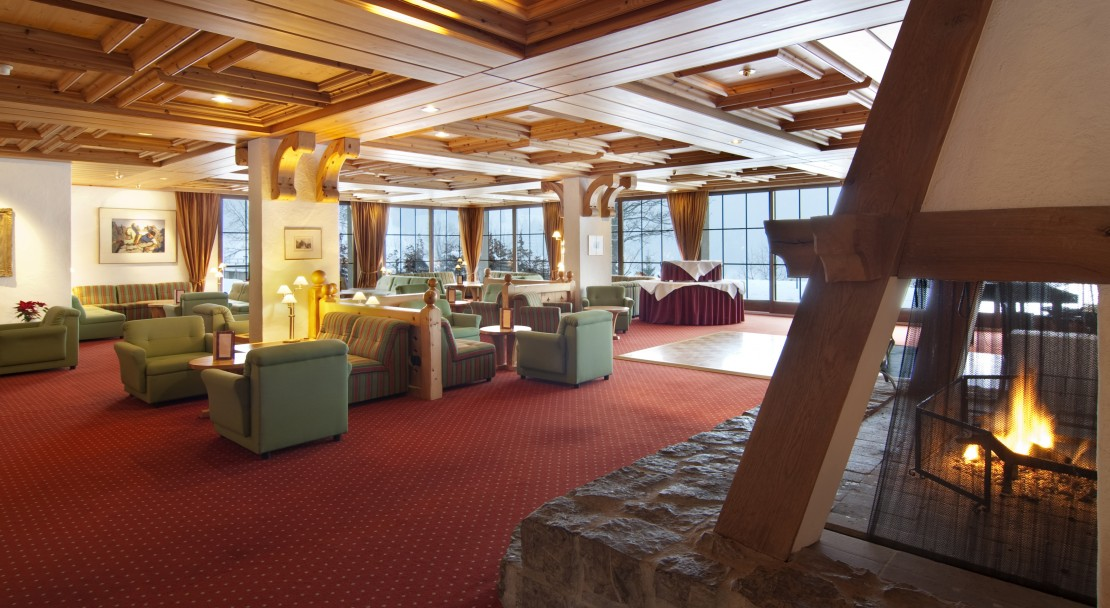 Communal Lounge in Hotel Sunstar in Grindelwald