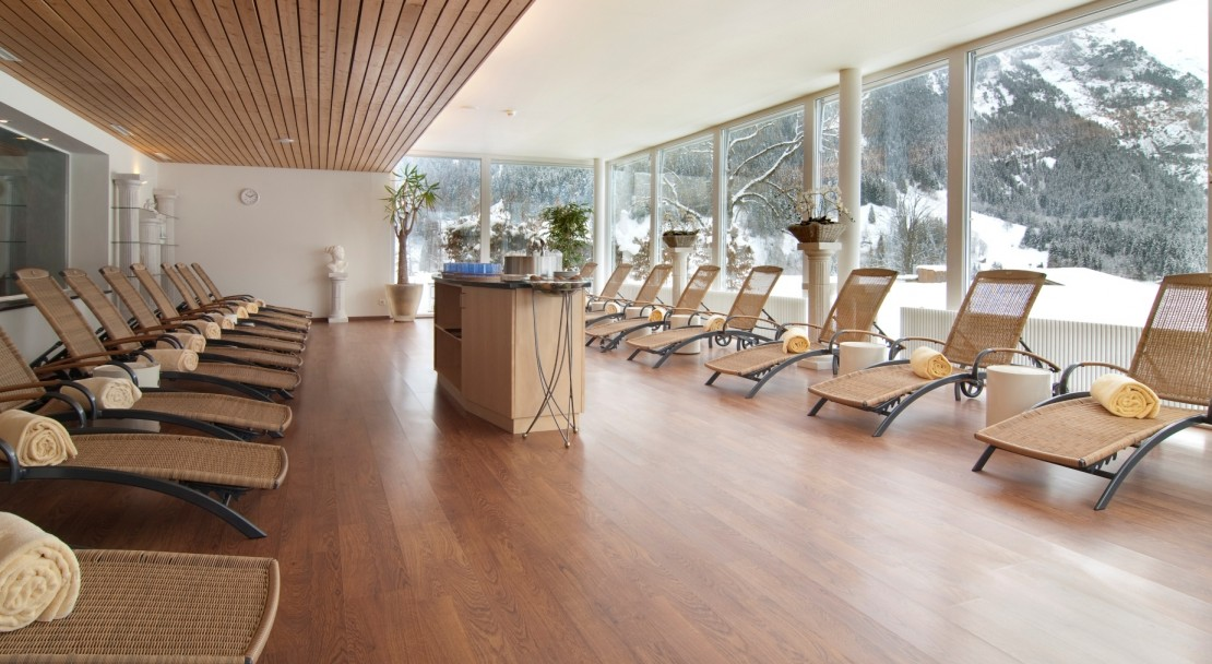 Hotel Sunstar Relaxation room Grindelwald