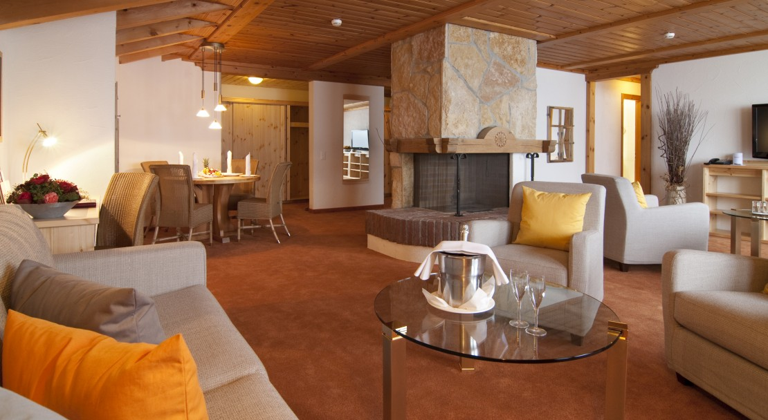 Lounge in Hotel Sunstar in Grindelwald