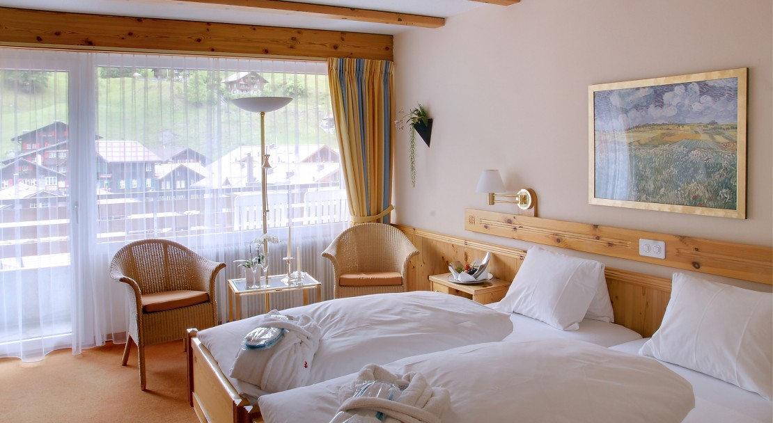 Standard Room at the Hotel Sunstar in Grindelwald