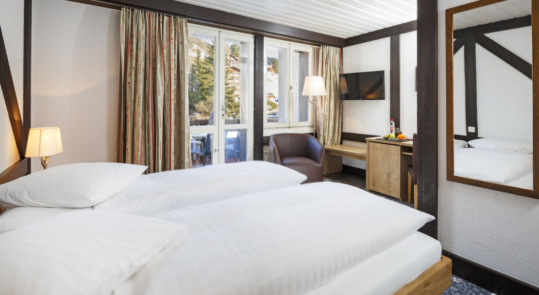Bedroom in Hotel Derby in Grindelwald