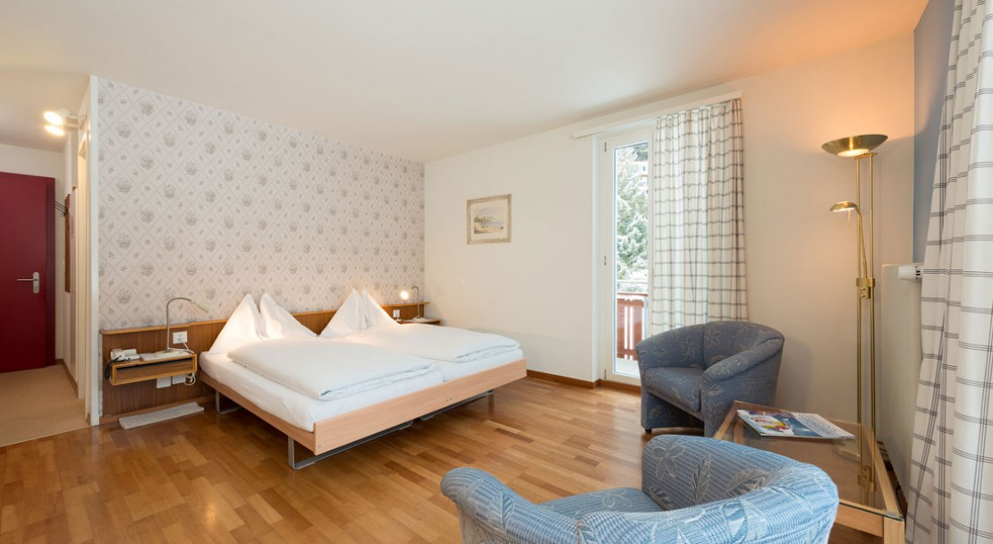 Superior Twin Room - Hotel Berghaus - Wengen