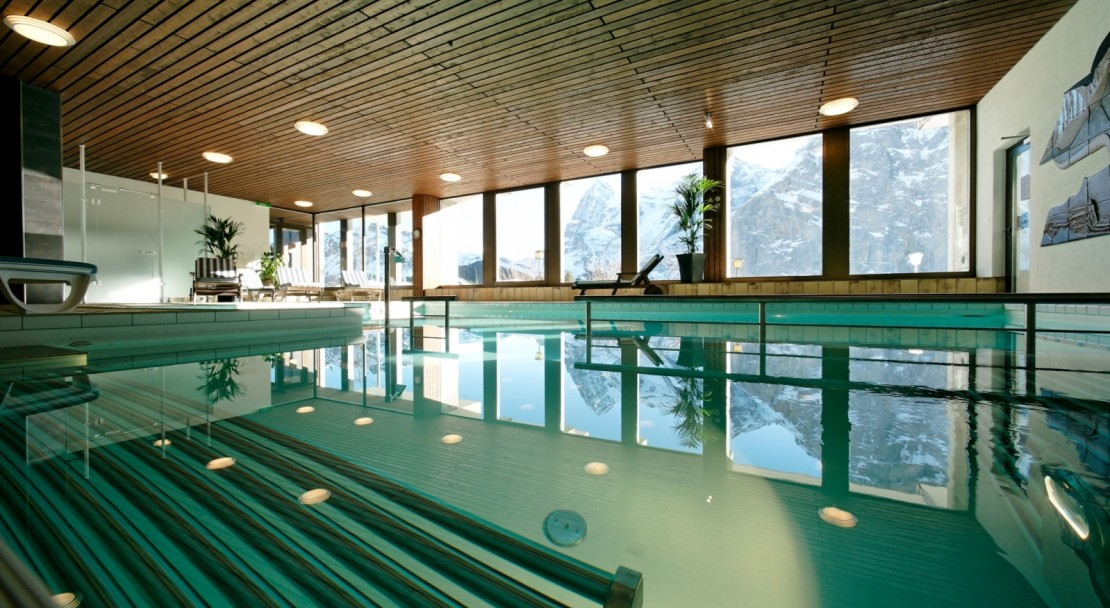 Hotel Eiger - Swimming Pool - Murren