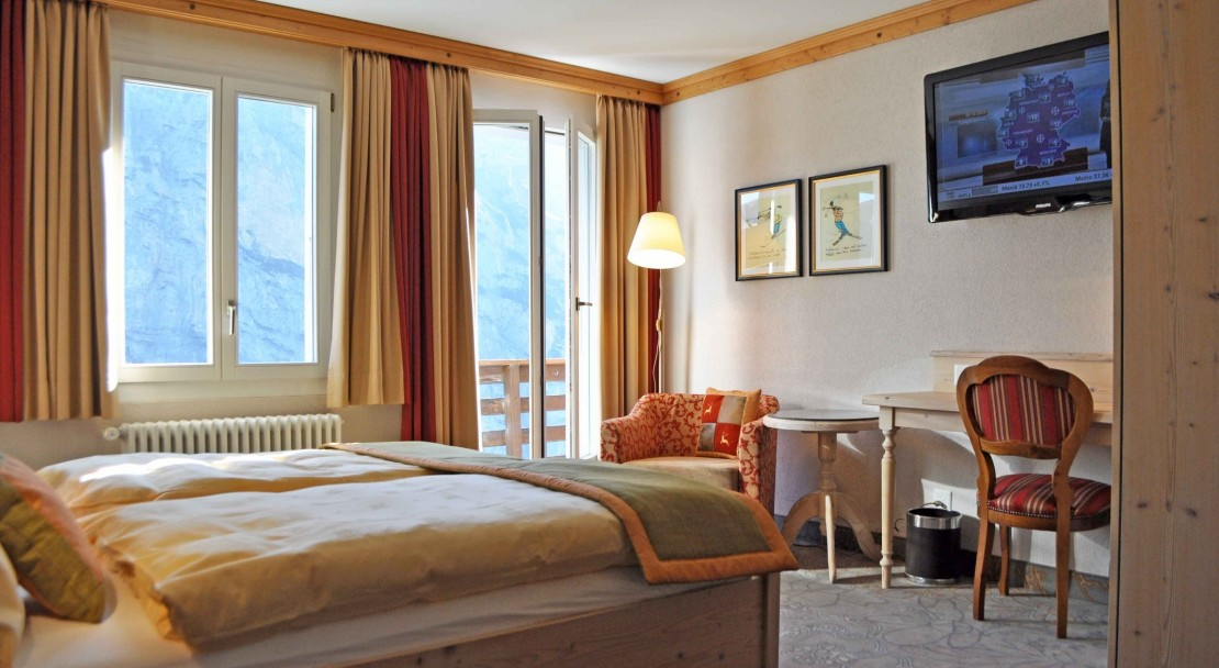 Hotel Eiger - Superior Double Room - Murren