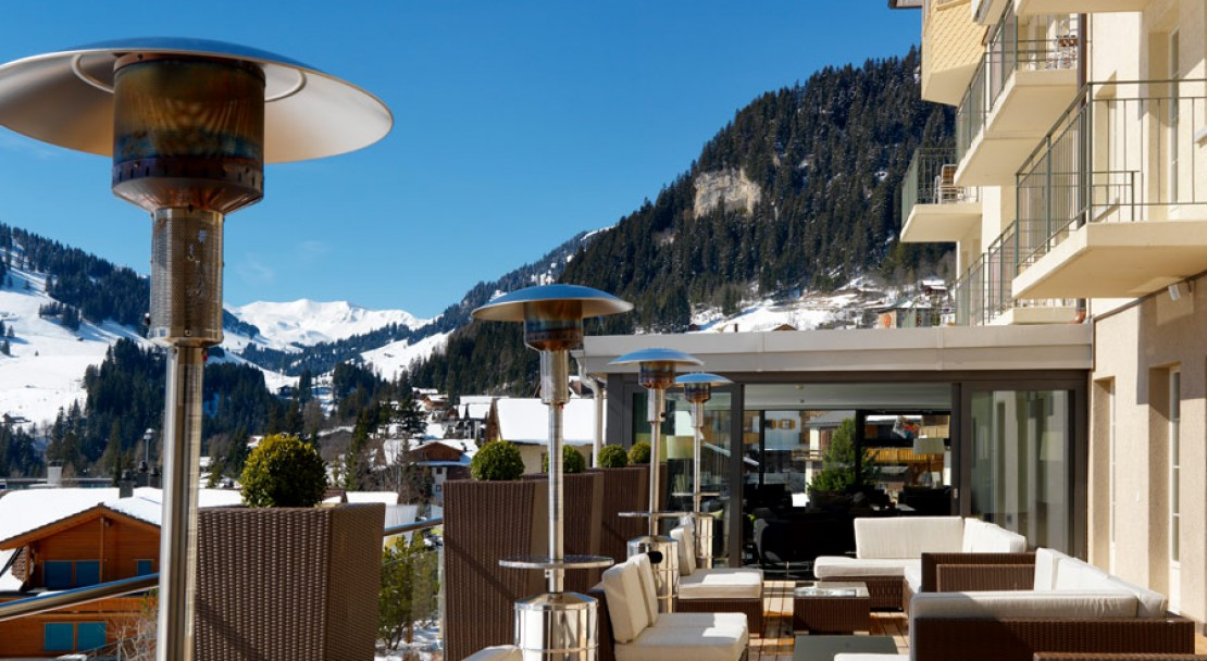 Terrace - The Cambrian - Adelboden