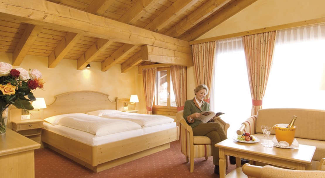 Superior Room - Silvretta Parkhotel - Klosters