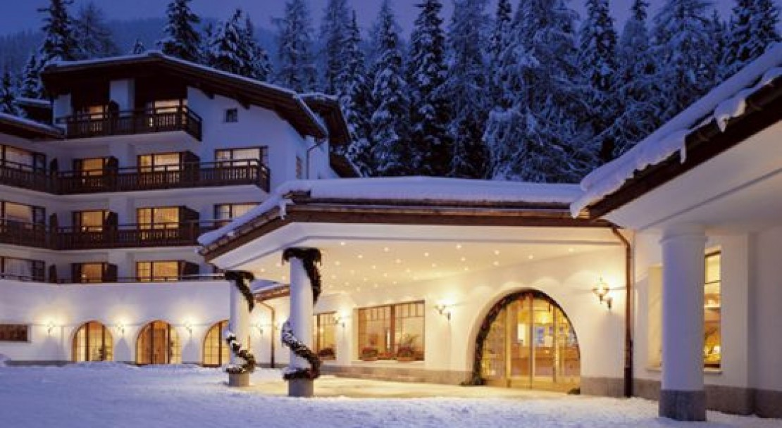 Outside at the Sheraton Davos Hotel Waldhuus