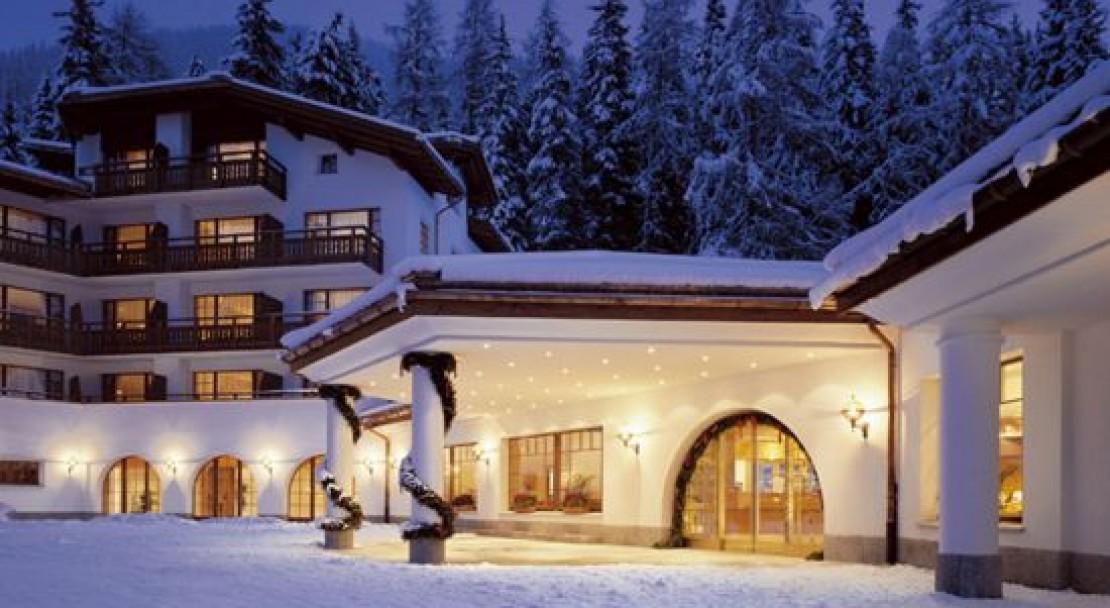 Outside At The Sheraton Davos Hotel Waldhuus