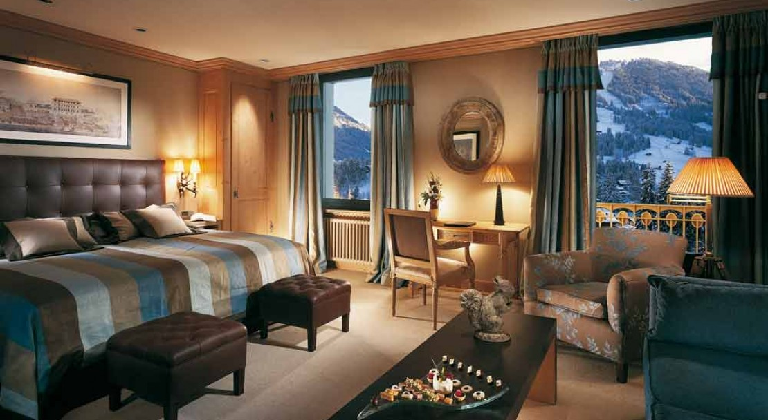 Deluxe Double Room in Gstaad Palace Hotel