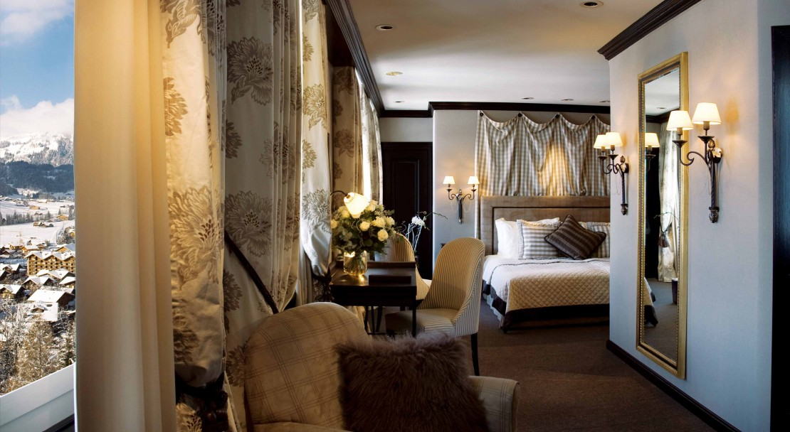 Room in the Gstaad Palace Hotel