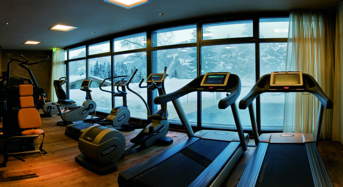 Gym Gstaad Palace Hotel