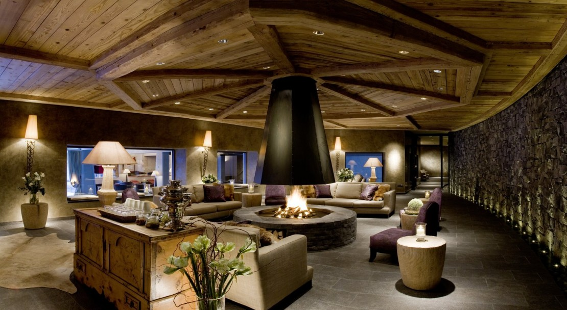 New Lounge Gstaad Palace Hotel