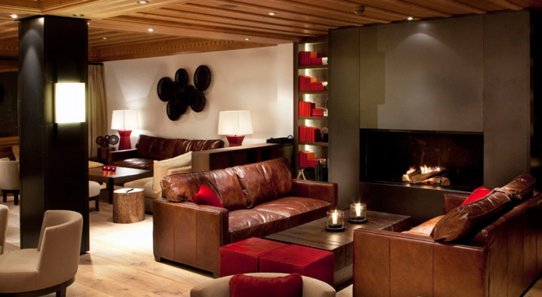 lounge area - Grand Hotel Park - Gstaad