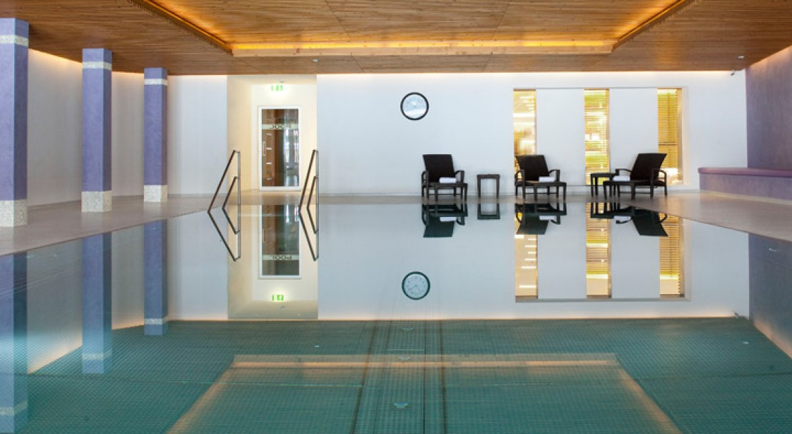 Indoor Pool - Grand Hotel Park - Gstaad