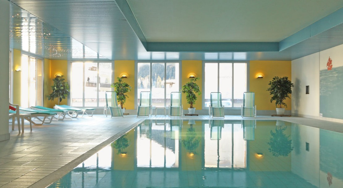 Indoor pool - Central Sporthotel - Davos