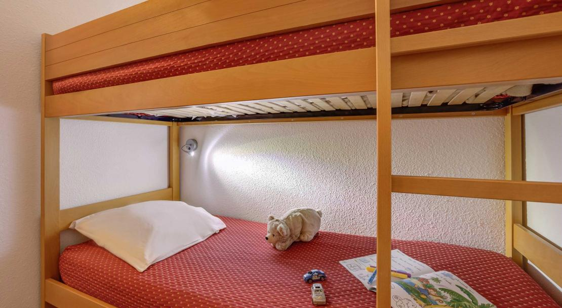 Bunk beds in Les Melezes Alpe d'Huez