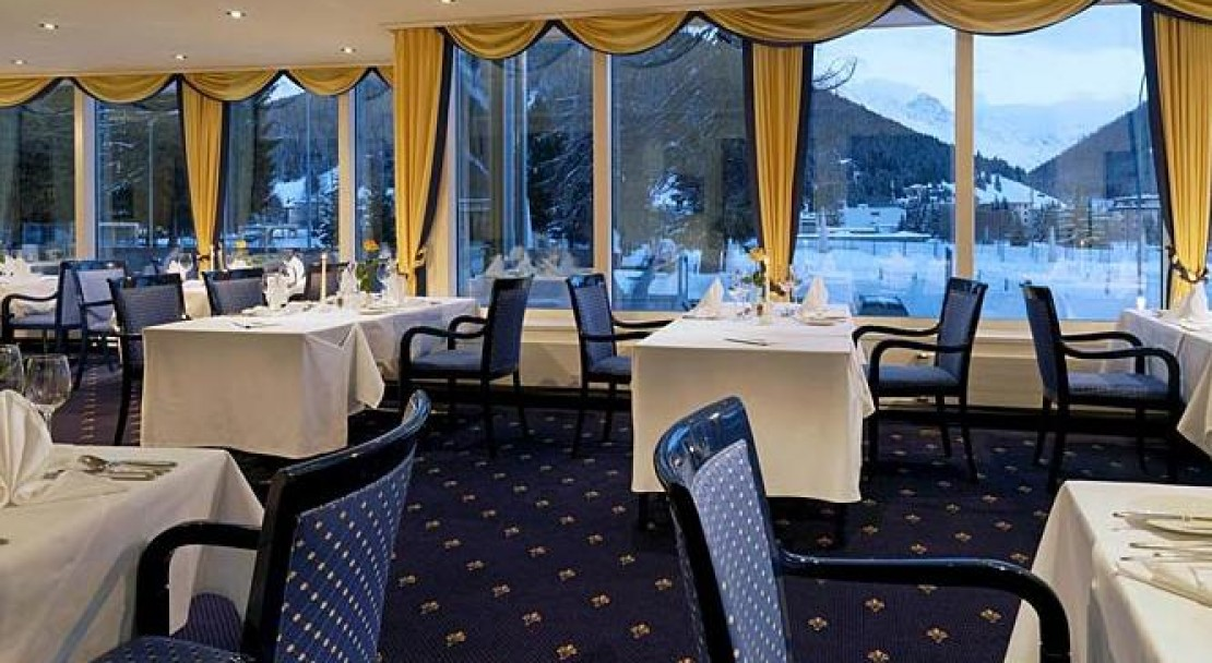 Restaurant at the Hotel Seehof