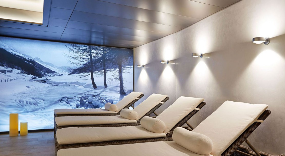Relaxation room, Hotel Seehof Davos, Switzerland