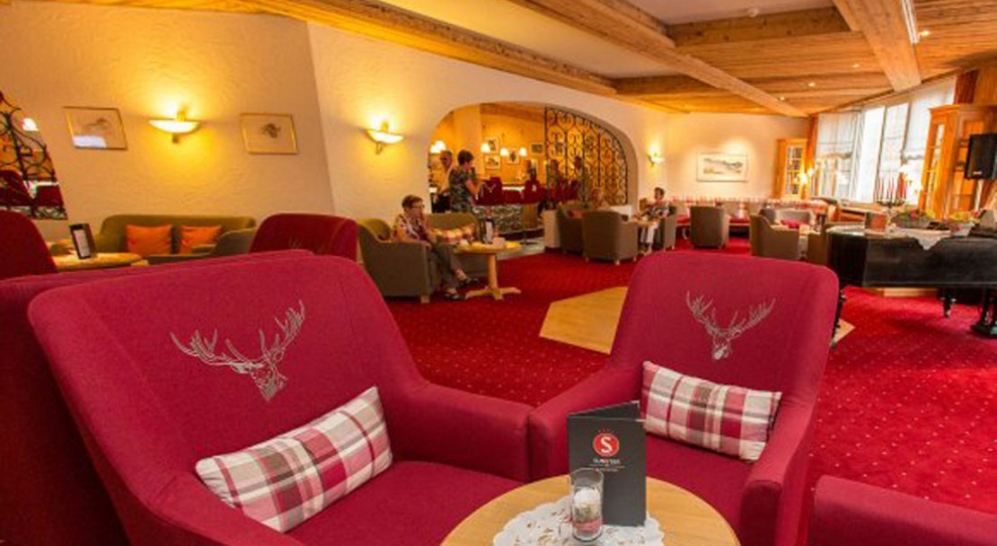 The lounge - Alpine Sunstar Hotel - Davos