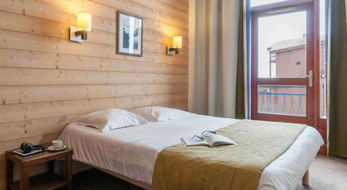 Double Bedroom  -  Residence Le Belmont - Les Arcs