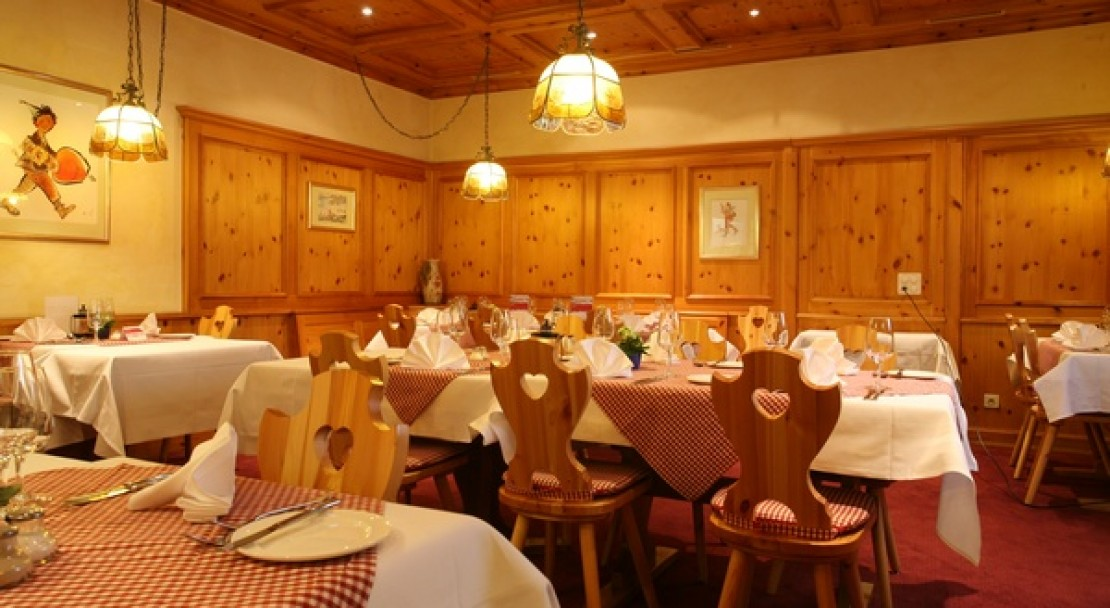 Restaurant at the Sunstar Hotel Flims