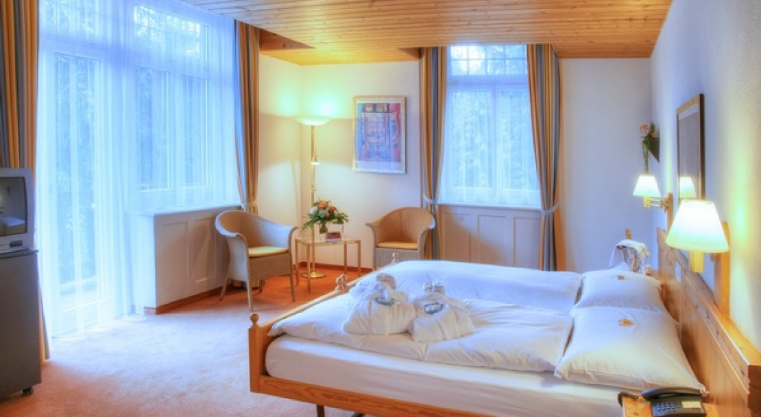 Double room at the Sunstar Hotel Flims