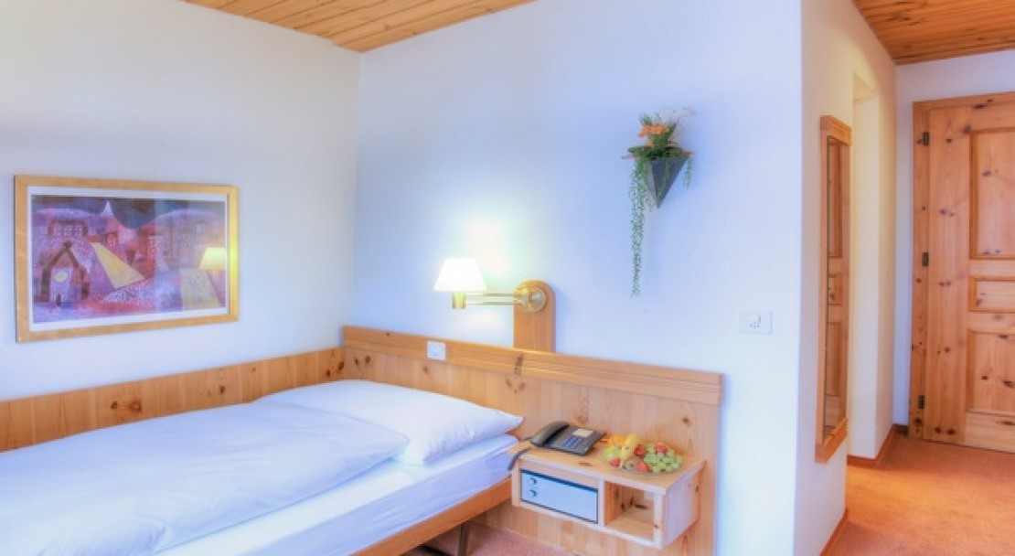 Single room at the Sunstar Hotel Flims