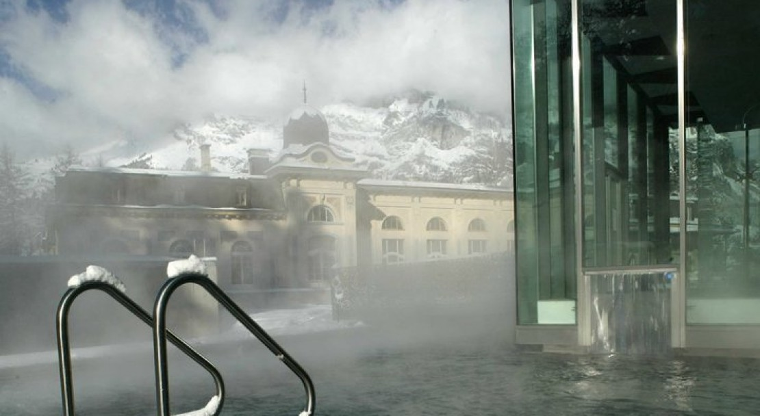 Waldhaus Flims Hotel Pool