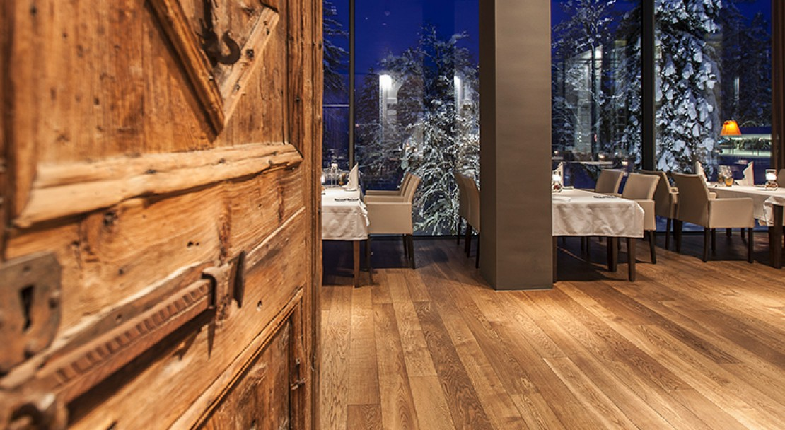 Restaurant at the Waldhaus Flims Mountain Resort & Spa