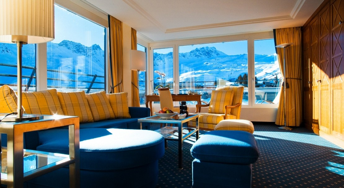 Penthouse at the Aroza Kulm