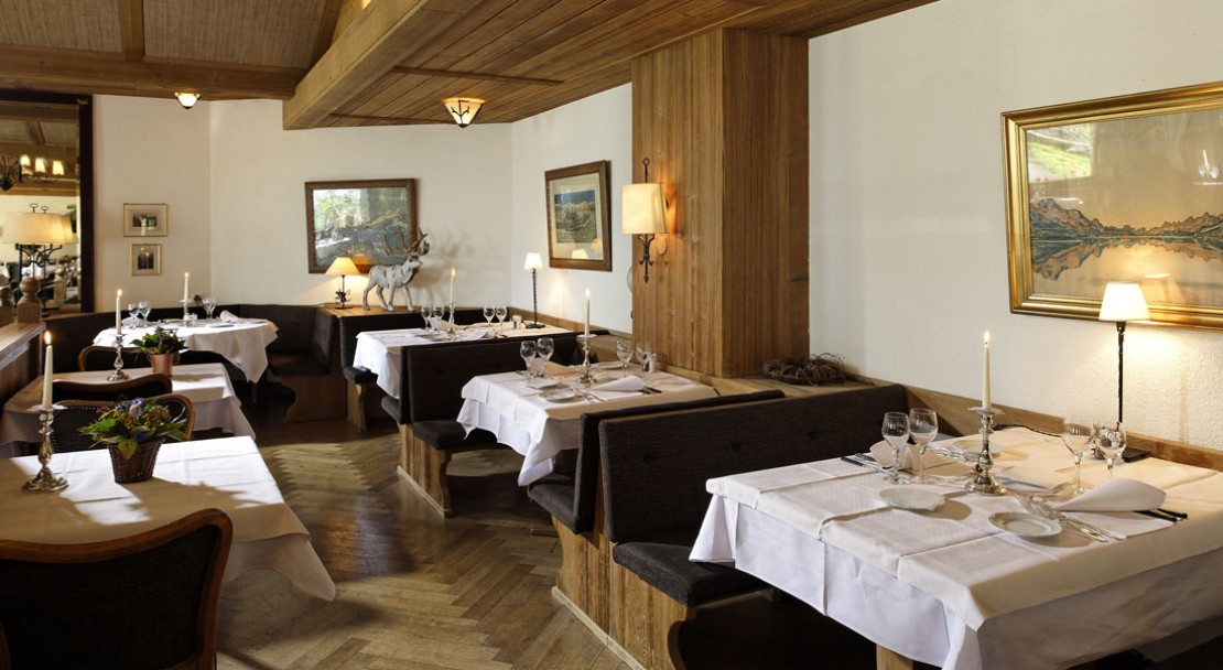 Dining area at Hotel Alpenrose - Wengen - Switzerland