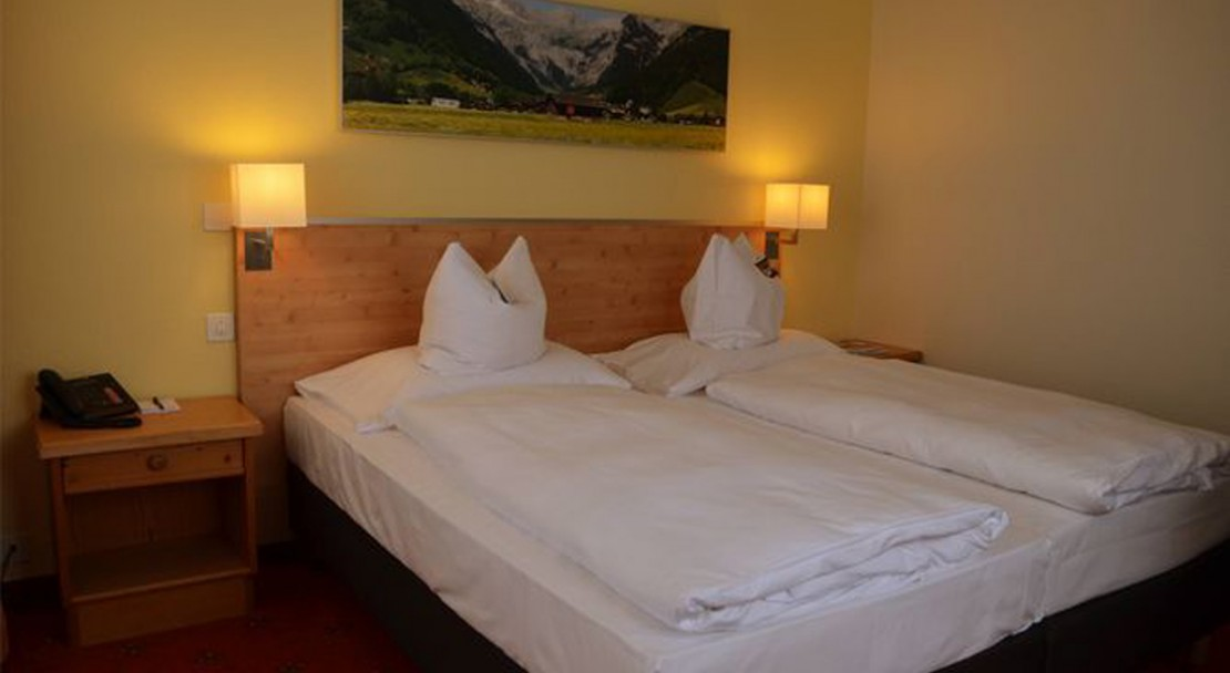 Twin Room at H+Hotel Sonnwendhof - Engelberg - Switzerland