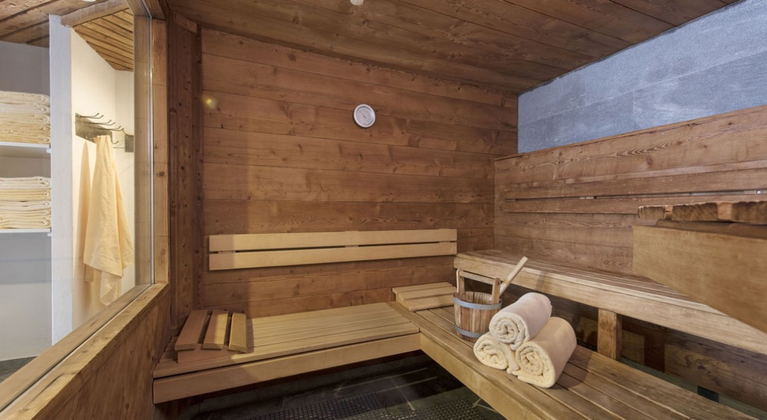 Sauna at Sunstar Style Hotel Zermatt - Switzerland