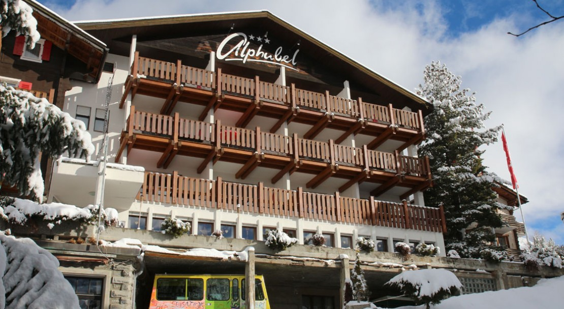exterior view of Hotel Alphubel