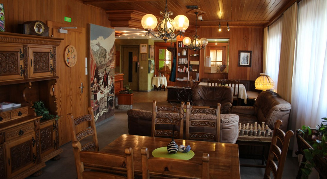 Lobby at Hotel Alphubel - Saas Fee - Switzerland