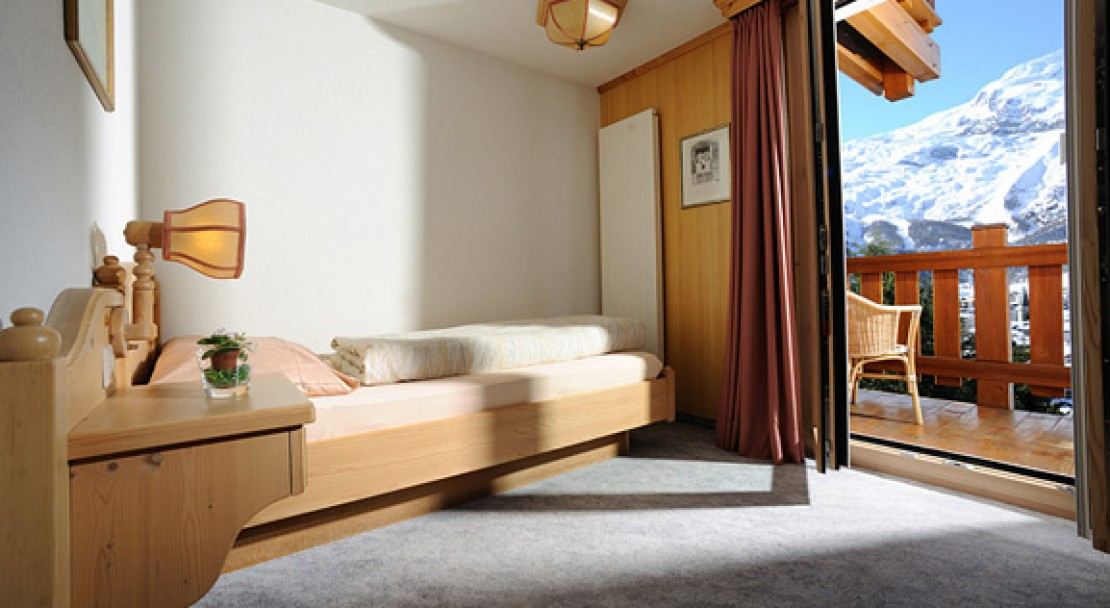 Single Room at Hotel Alphubel - Saas Fee - Switzerland