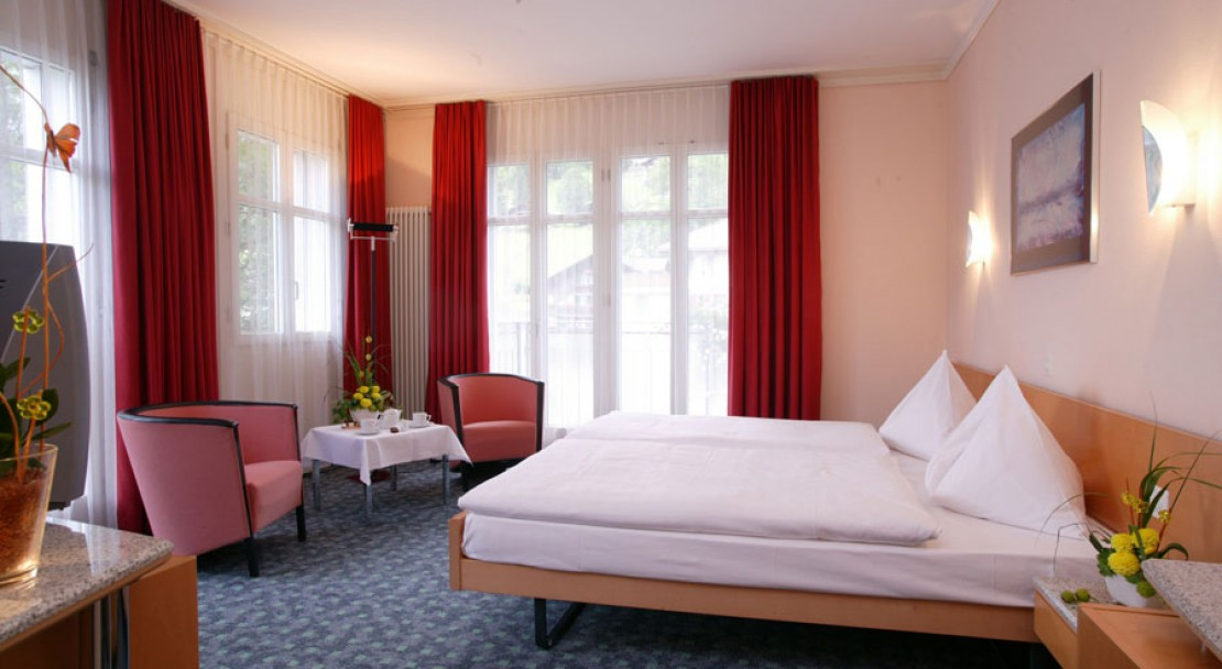 Superior Twin at the Belvedere Swiss Q Hotel Grindelwald