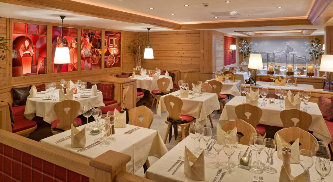 Restaurant - Hotel Holiday - Zermatt