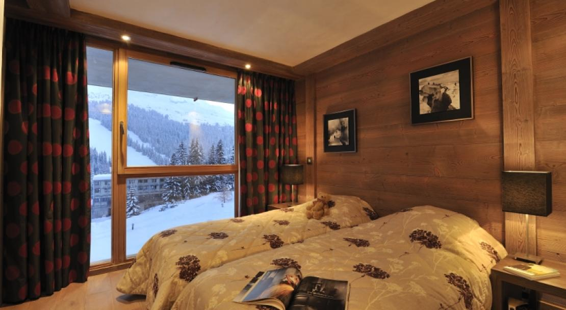 An artist's impression of an apartment in Le Centaure - Flaine - France