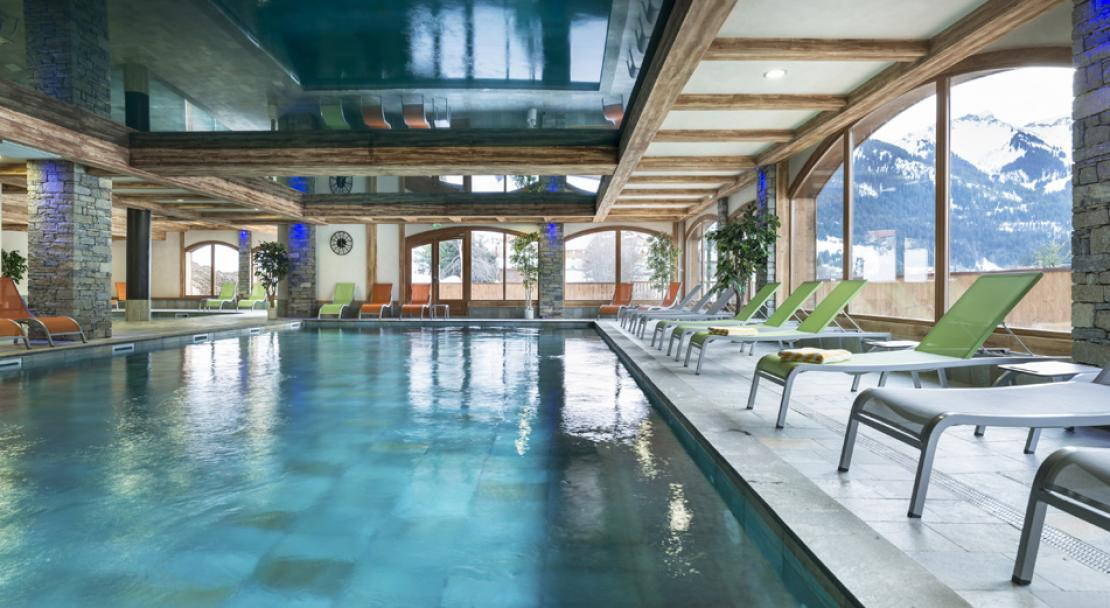 Chalets d'Angele, Chatel, Swimming Pool
