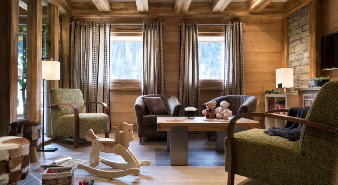 Chalets d'Angele, Chatel, Communal Lounge
