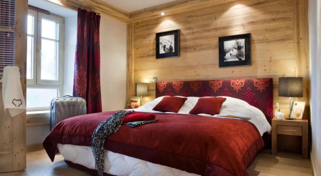 Bedroom, Les Chalets D'Angele
