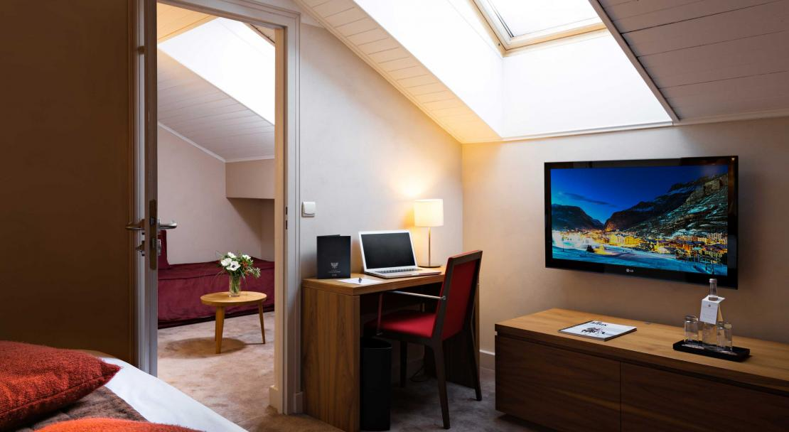 Hotel Aigles De Neiges Val D'Isere Executive Velux Room